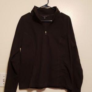 Lands end 1/4 zip sweater